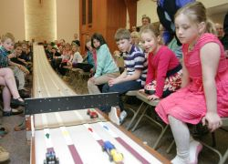 Junior Youth pinewood derby
